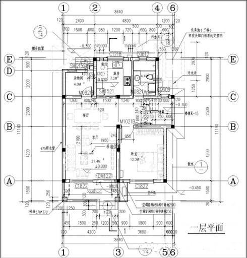 新农村房屋户型设计图大全